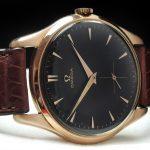 Perfect Omega 38mm Oversize Jumbo Vintage Soild Pink gold