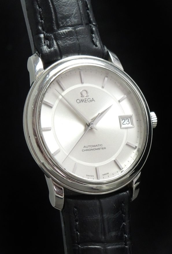 Perfect Omega Chronometer Automatik Steel 35mm De Ville