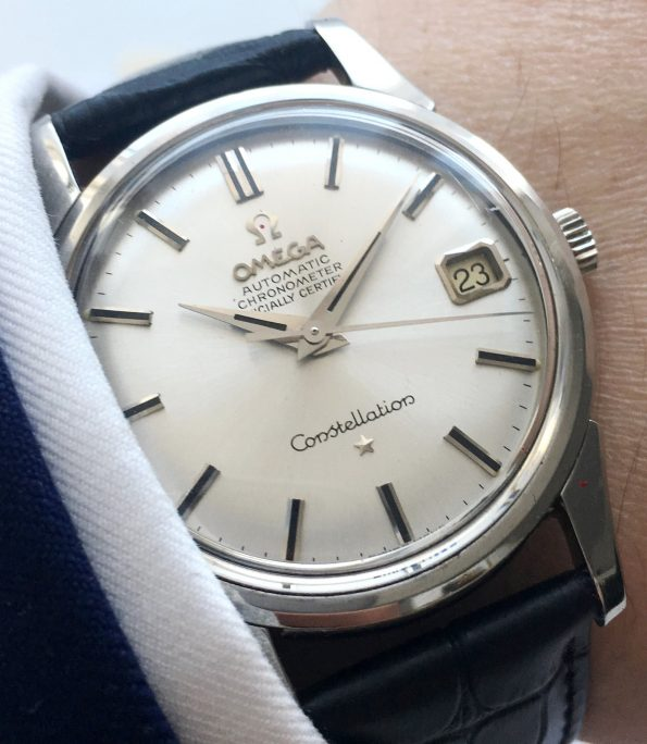 FULL SET Omega Constellation Chronometer with Box and Papers