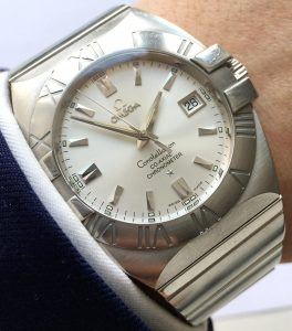 Omega Constellation Double Eagle Co Axial Full Set