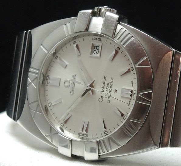 Omega Constellation Double Eagle Co Axial Full Set Box Papers