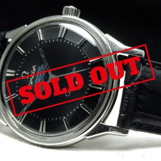 Omega Constellation Pie Pan with black dial Automatic Automatik