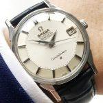 Wonderful Omega Constellation Pie Pan Onyx Automatic