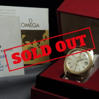 Omega Constellation Vollgold Automatik a1653 (1)