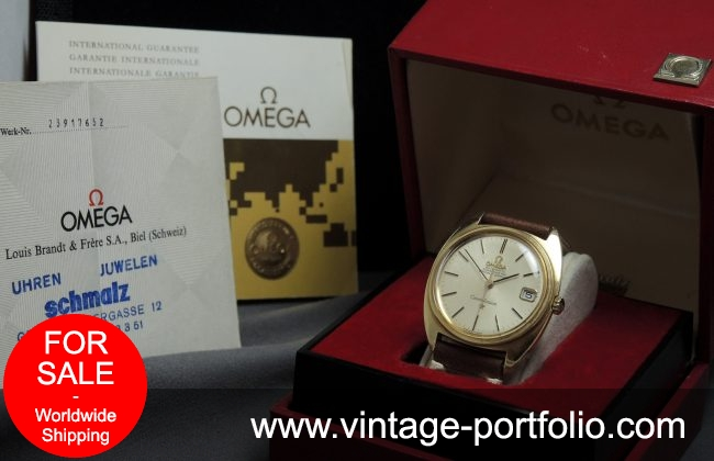 1967 Full Set Omega Constellation Automatic Solid Gold
