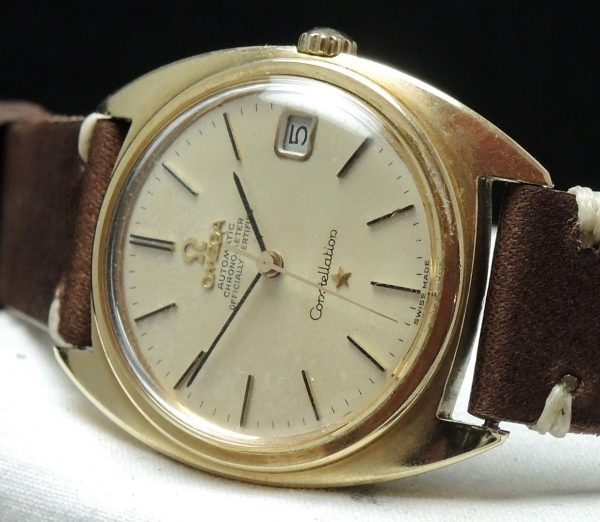 1967 Full Set Omega Constellation Vollgold Automatik