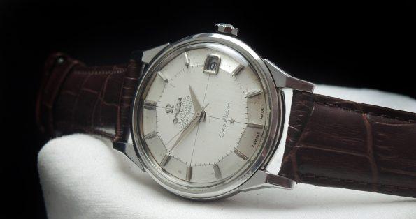 Beautiful Omega Constellation Pie Pan Steel Automatic Vintage