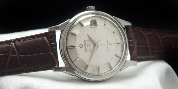 Beautiful Omega Constellation Pie Pan Steel Automatic Vintage