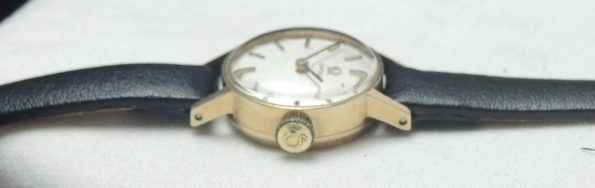 New Old Stock Omega Ladies Watch in 375 Solid Gold