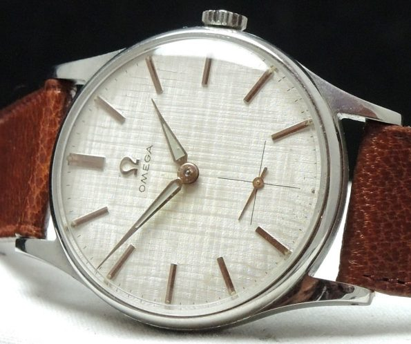 Wonderful Omega Ladies Damen Linen dial vintage