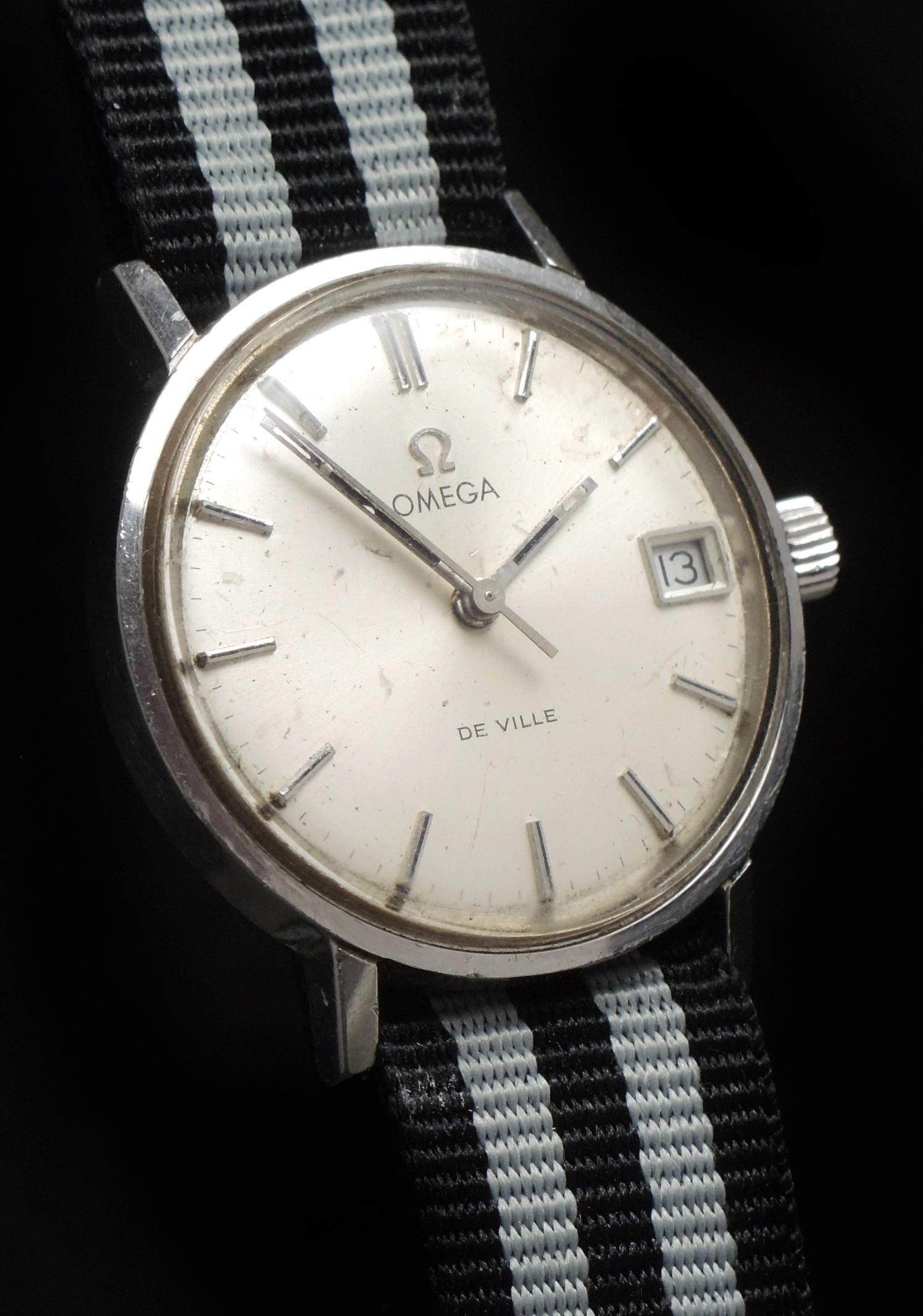 lady omega vintage watch