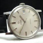 Omega Geneve Automatic Automatik Date Steel Vintage Onyx Indices