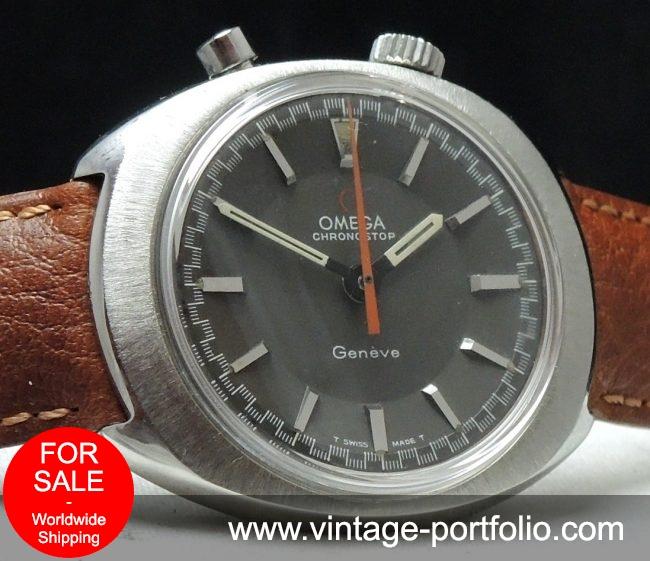 Omega Geneve Chronostop Race