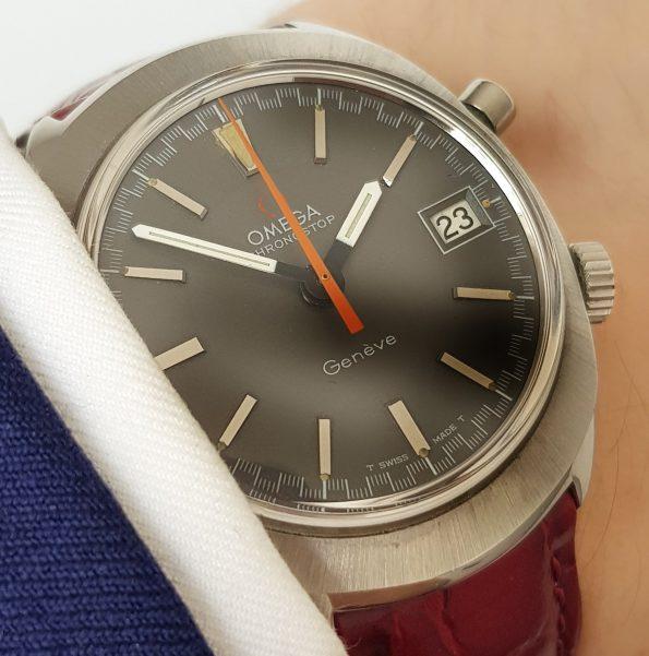 Serviced Omega Geneve Chronostop Vintage