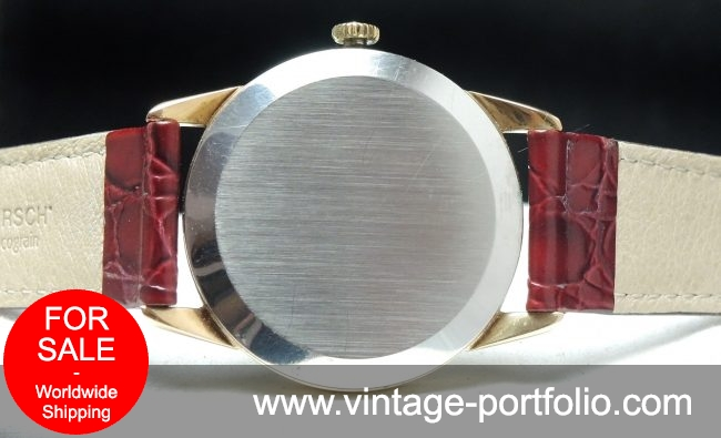 Rare Omega Geneve Pie Pan with Onyxindices