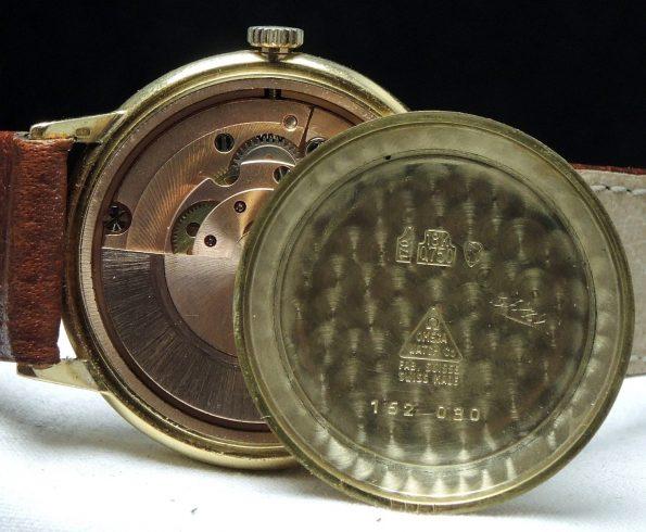 Original Omega Geneve Uhr in 18 karat Vollgold