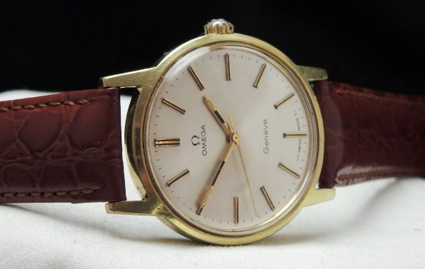 Beautiful Omega Geneve Vintage gold plated