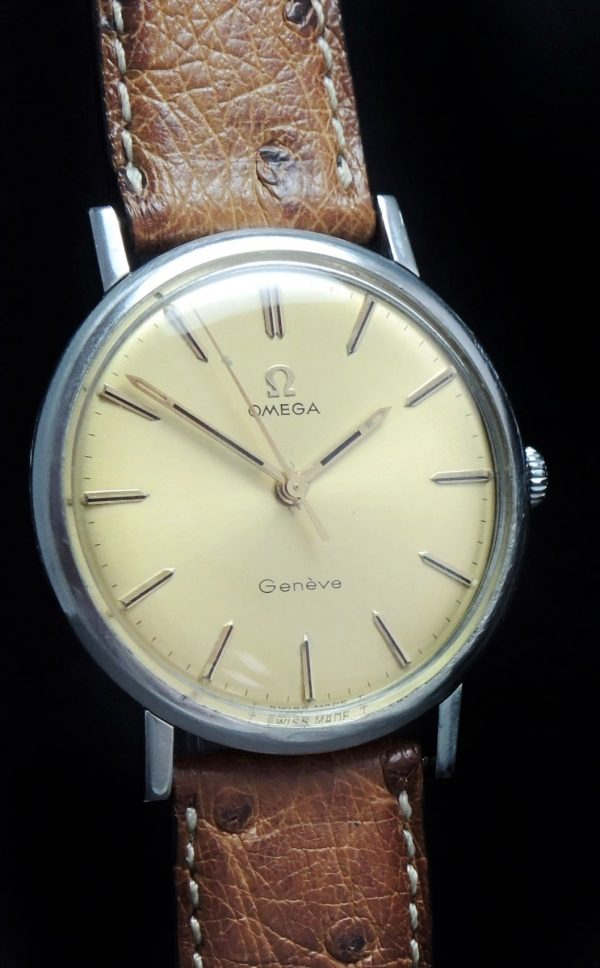 Beautiful Omega Geneve Vintage Cream Dial
