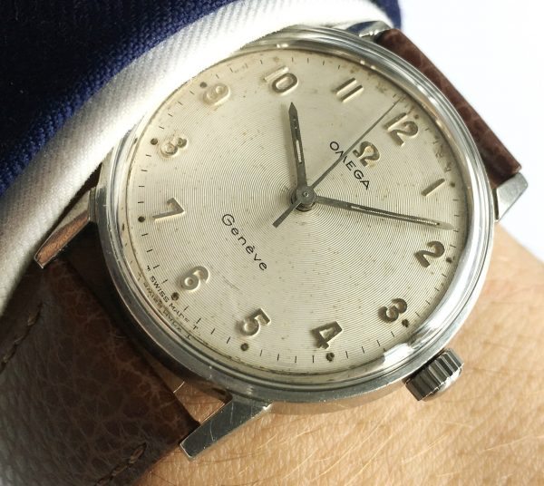 Omega Seamaster 600 with Geneve Vinly Dial Vintage