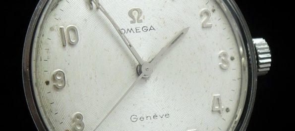 Superrare Omega Geneve Vinly Dial Vintage