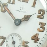 Amazing Omega Military Vintage ww1 silver cased