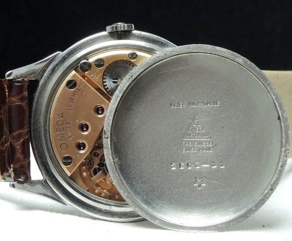 Wonderul Omega 37mm Oversize Jumbo Two tone dial 50ties