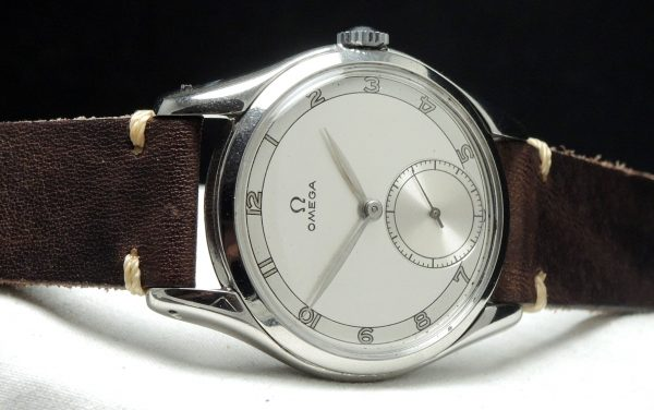 30t2 Omega 37mm Oversize Jumbo Two tone dial ww2