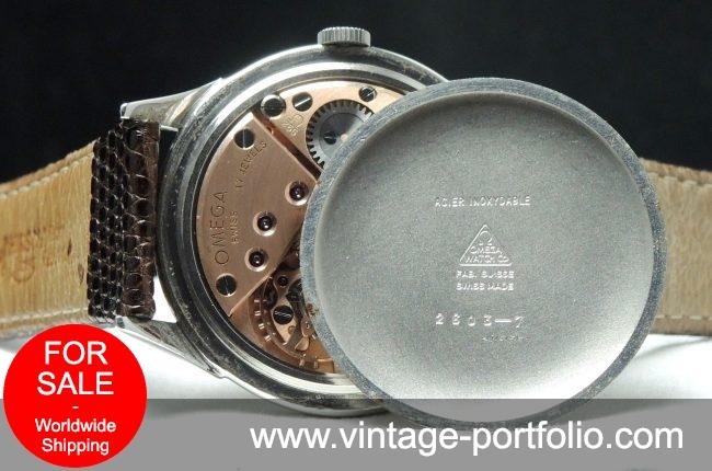 Perfect Omega 38mm Oversize Jumbo Vintage Omega Service