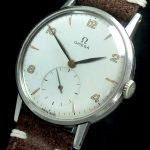Omega Oversize Jumbo 37mm Oversize Watch with Vintage Strap