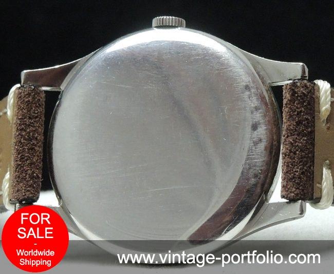 Omega Oversize Jumbo 38mm Vintage watch patina dial