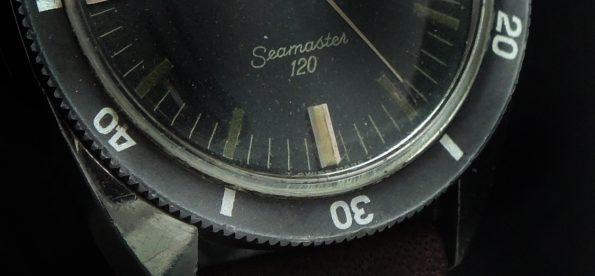 Important Omega Seamaster 120 Vintage Automatik Automatic