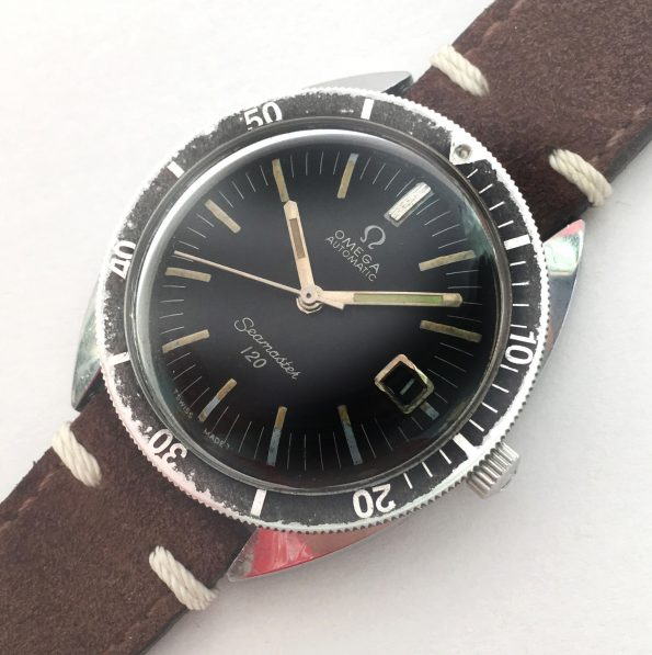 Omega Seamaster 120 Vintage Diver Automatic 37mm Date