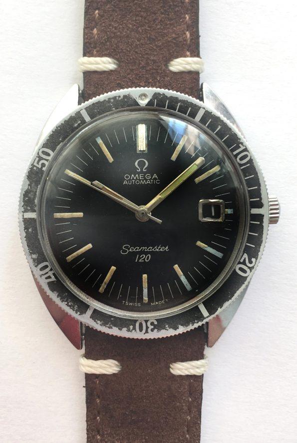 Omega Seamaster 120 Vintage Diver Automatik Automatic 37mm Date