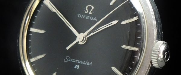 Beautiful Omega Seamaster 30 Calatrava Vintage