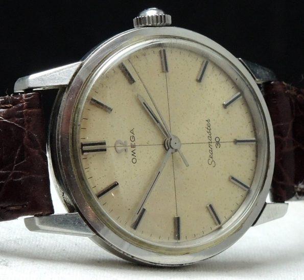 Rare Omega Seamaster 30 Crosshair dial