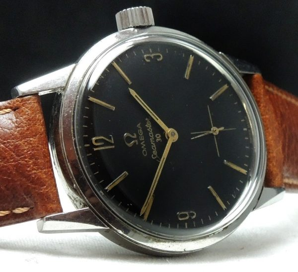 Omega Seamaster 30 with black dial Vintage