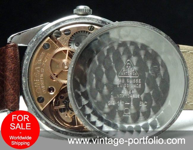 Rare Omega Seamaster 30 with Explorer Dial