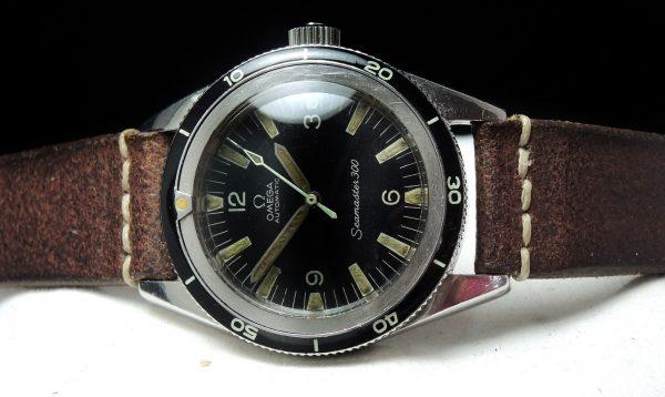 Genuine Omega Seamaster 300 Vintage Thin Bezel Automatic