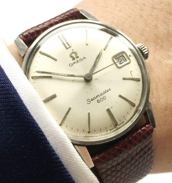 Amazing Omega Seamaster 600 Date