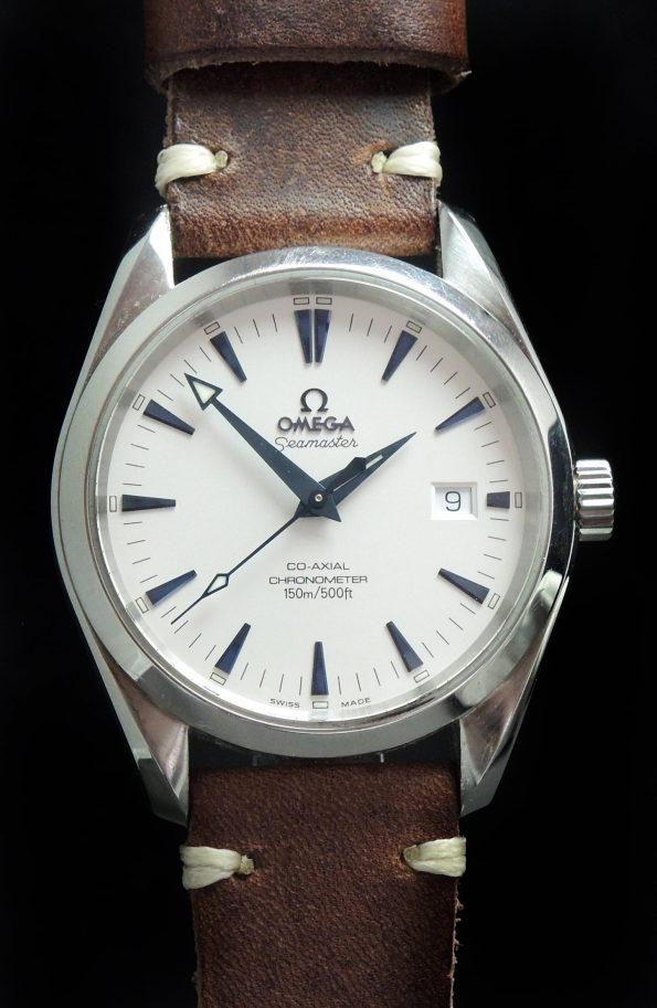 Amazing Omega Seamaster Aqua Terra Automatik Co Axial 39mm