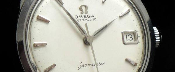 Amazing Omega Seamaster Automatic Date