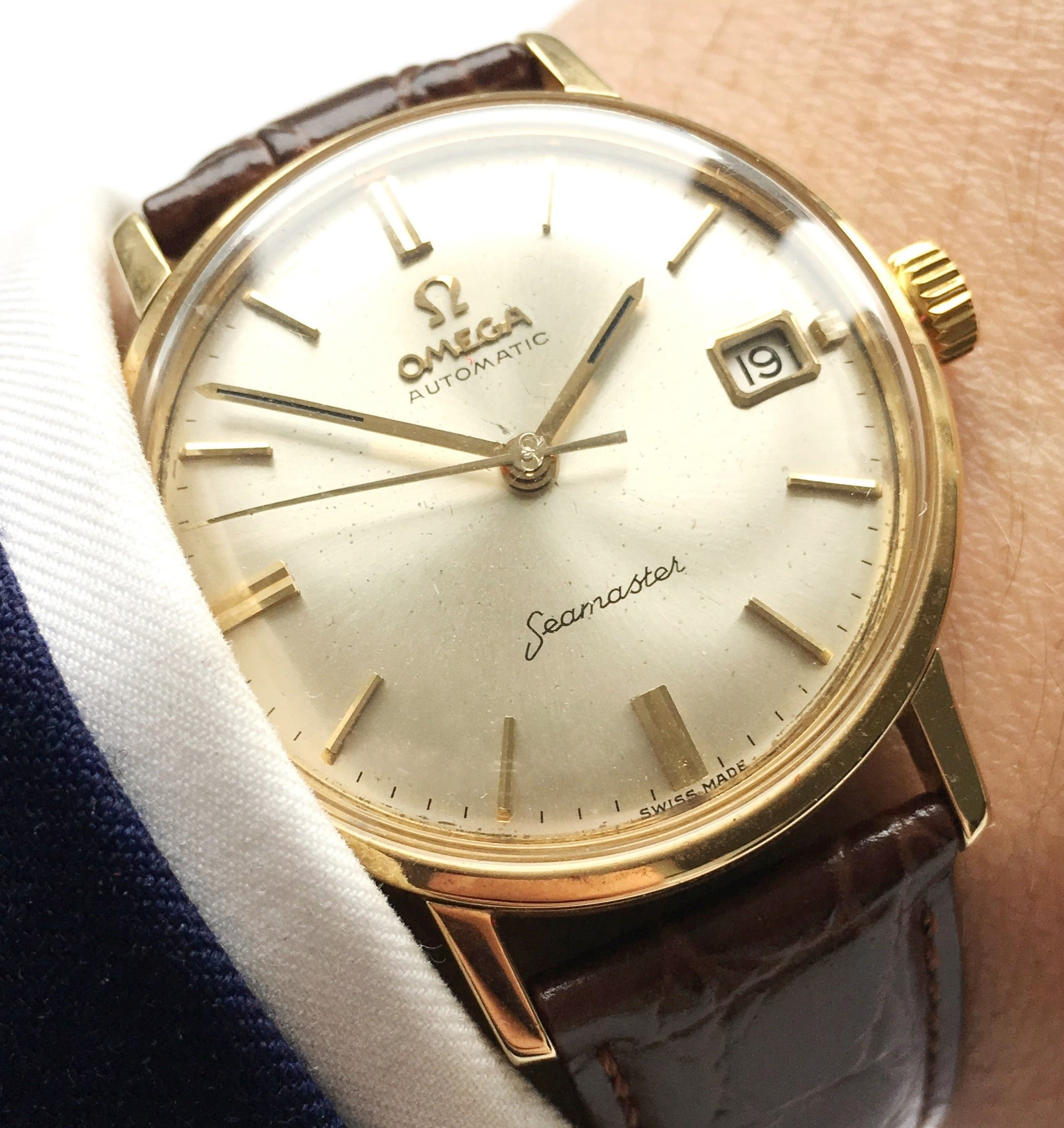 dating vintage omega watches
