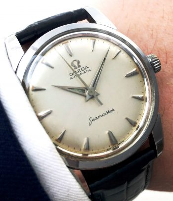 Wonderful Omega Seamaster Automatic Automatik Big Seahorse Logo