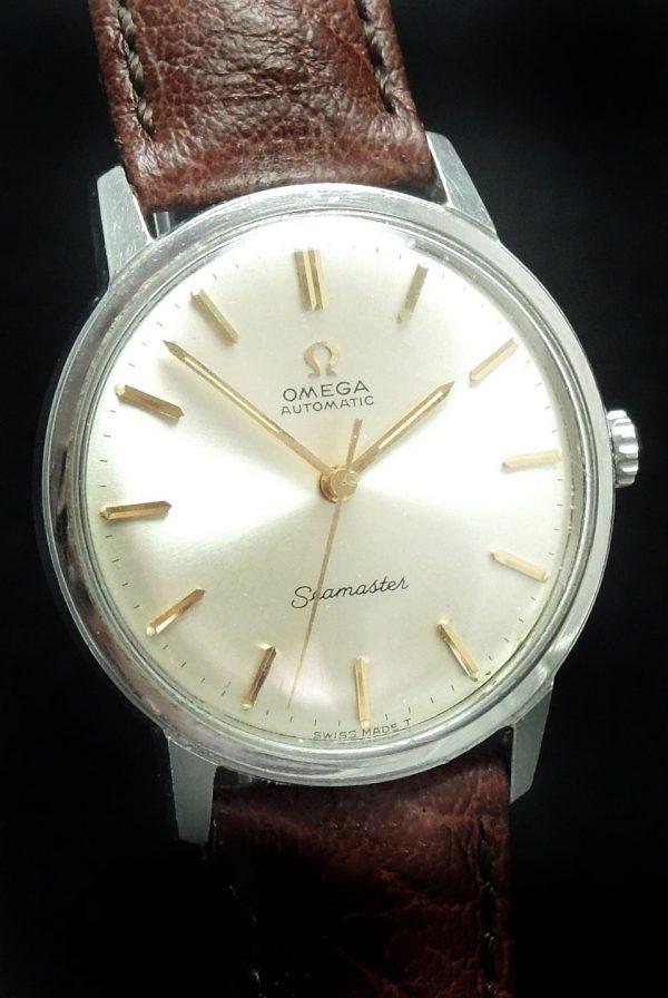 Wonderful Omega Seamaster Automatic Automatik Watch Vintage