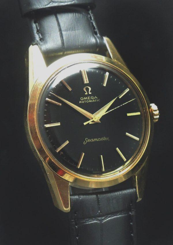 Perfect Omega Seamaster Automatic Automatik 18 ct solid gold