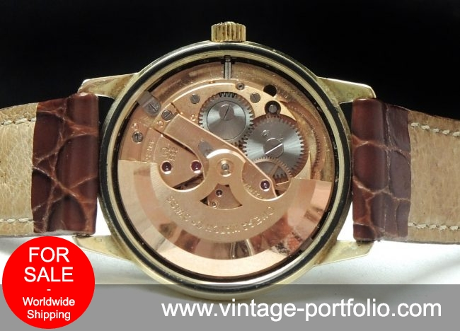 Serviced Omega Seamaster Automatic Solid Gold Vintage