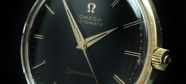 Serviced Omega Seamaster Automatic Solid Gold