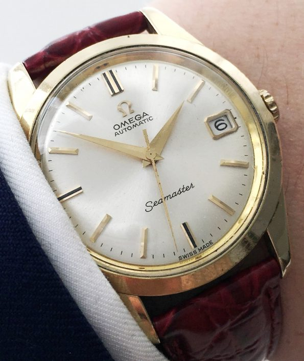 35mm Omega Seamaster Automatic Massiv Version