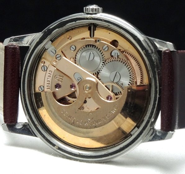 1967 Omega Seamaster Automatic Automatik with Linen dial Vintage