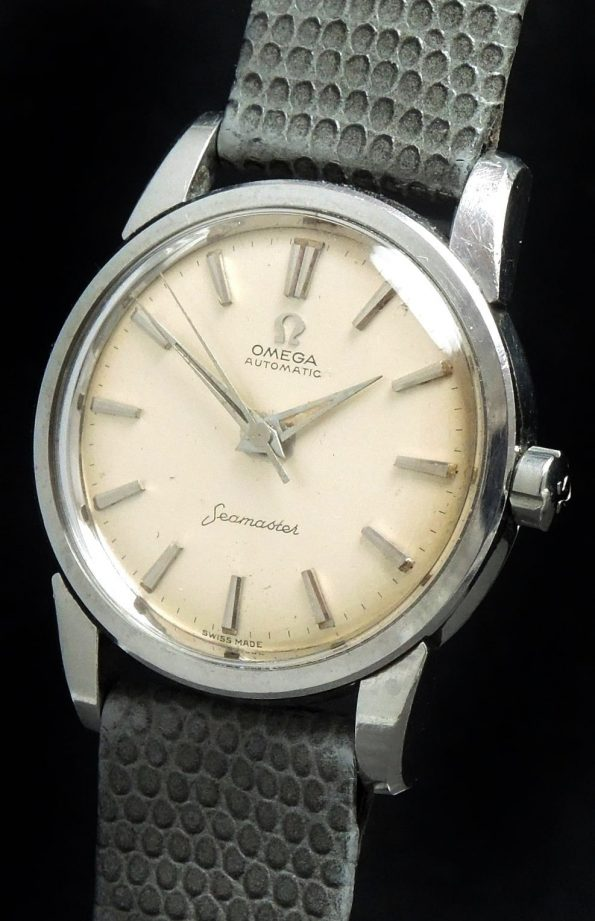 Serviced Omega Seamaster Automatic Big Seahorse Logo